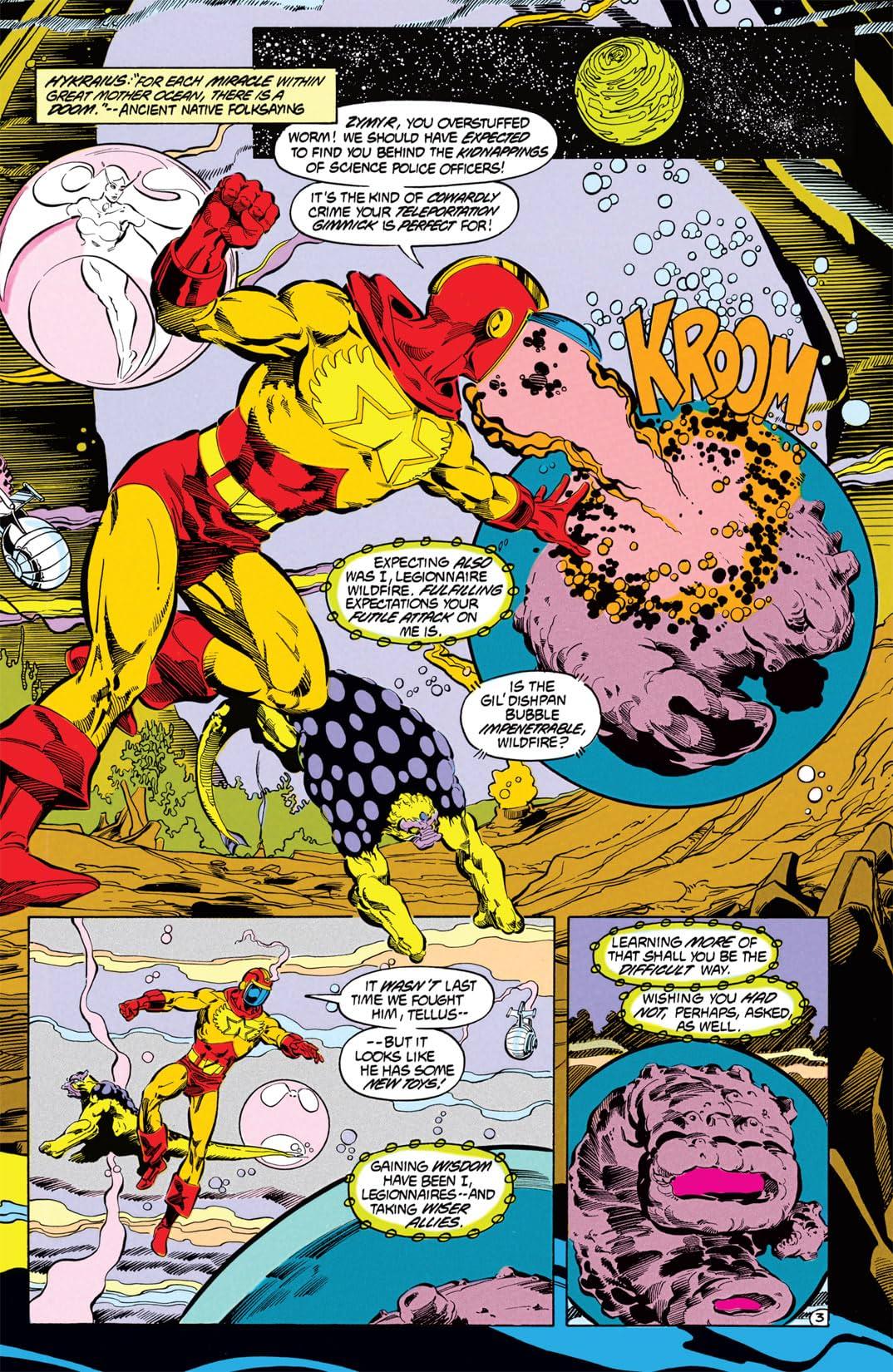 Legion of Super-Heroes (1984-1989) #33