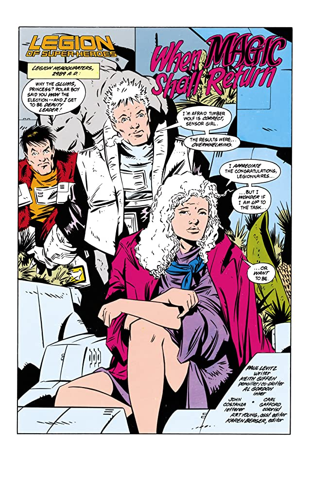 click for super-sized previews of Legion of Super-Heroes (1984-1989) #60