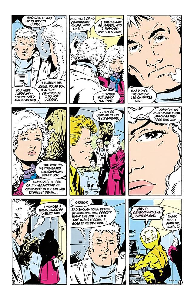 Legion of Super-Heroes (1984-1989) #60
