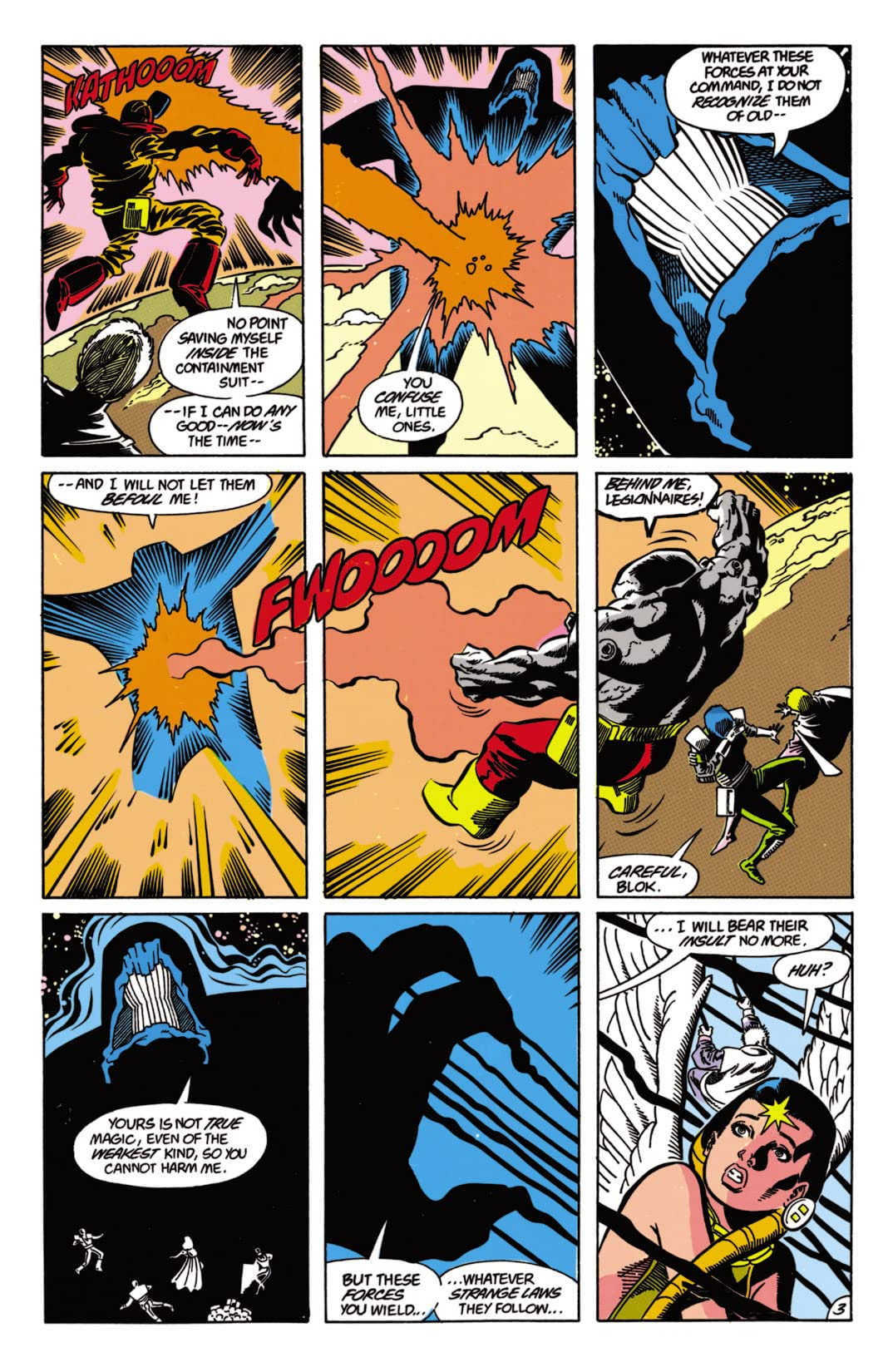 Legion of Super-Heroes (1984-1989) #63