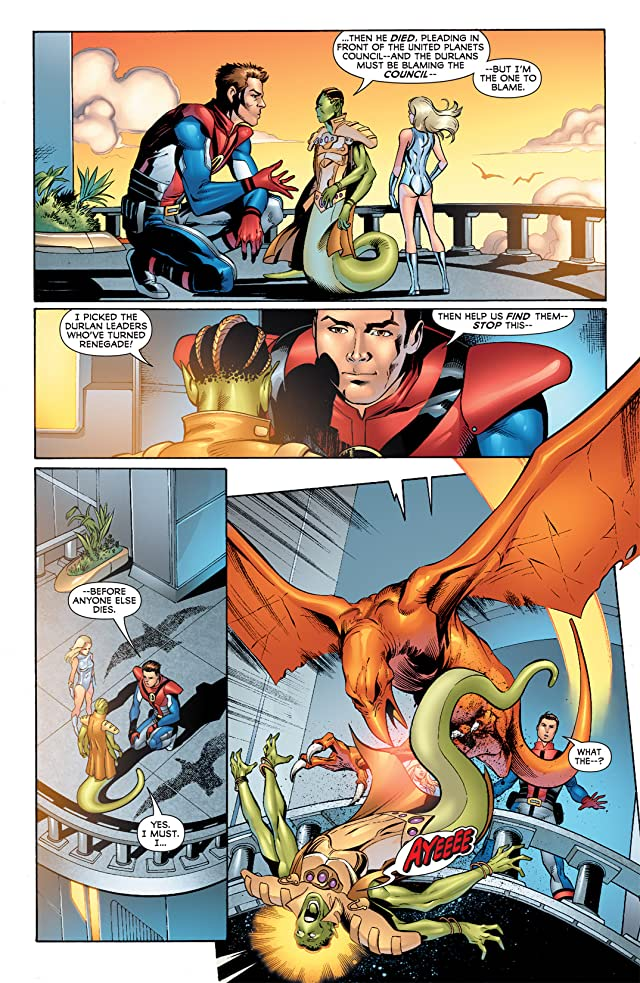 click for super-sized previews of Legion of Super-Heroes (2010-2011) #8