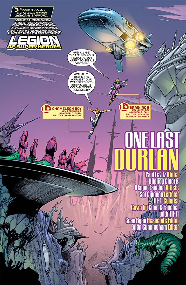 click for super-sized previews of Legion of Super-Heroes (2010-2011) #9