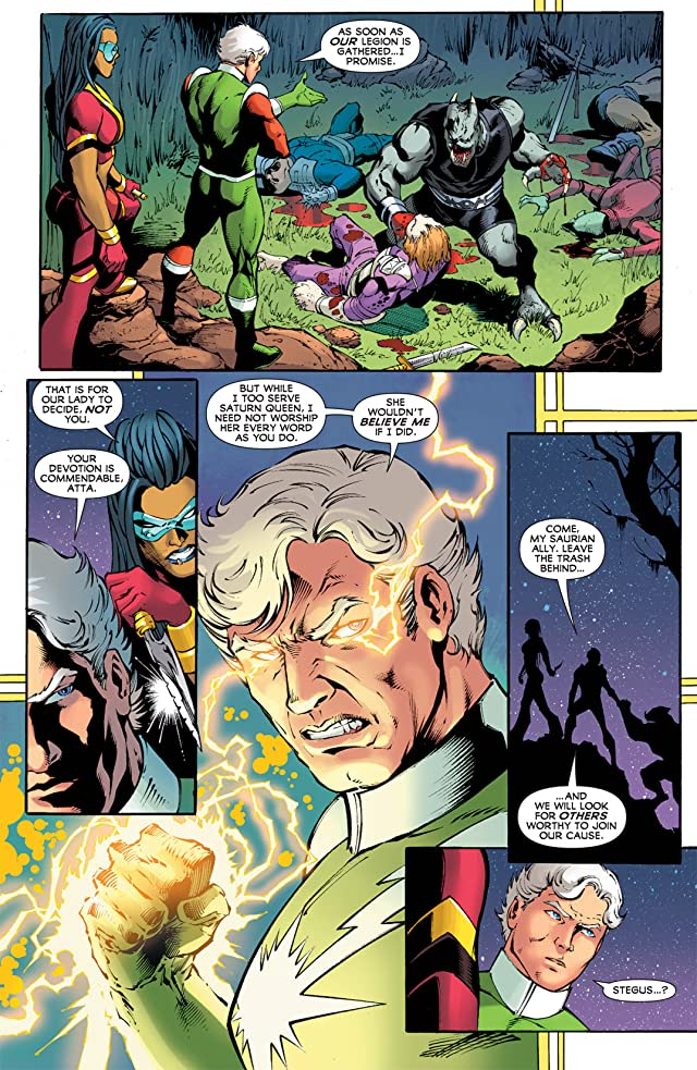 click for super-sized previews of Legion of Super-Heroes (2010-2011) #12