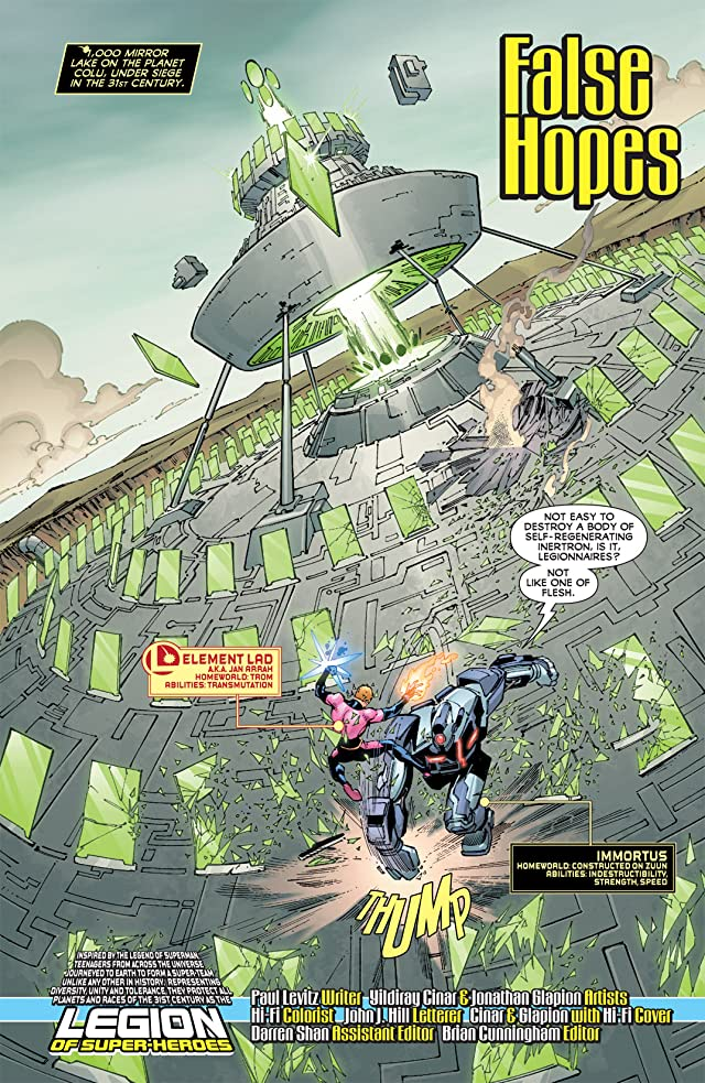 click for super-sized previews of Legion of Super-Heroes (2010-2011) #13