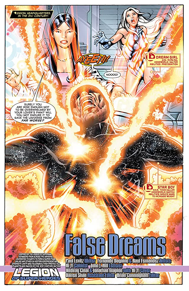 click for super-sized previews of Legion of Super-Heroes (2010-2011) #14