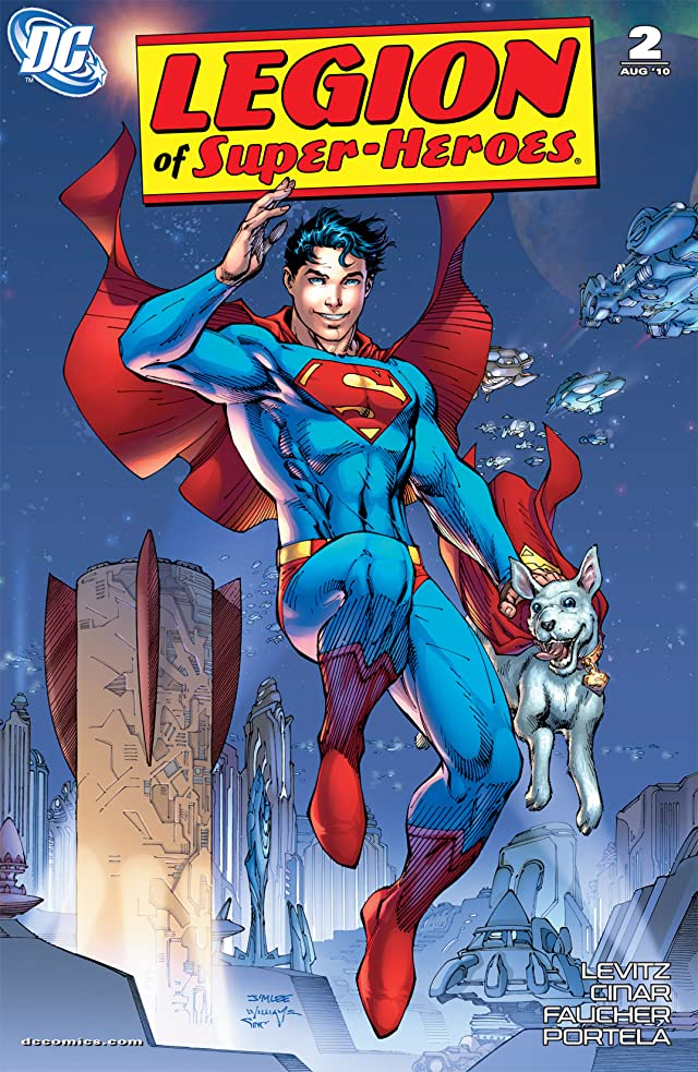 click for super-sized previews of Legion of Super-Heroes (2010-2011) #2