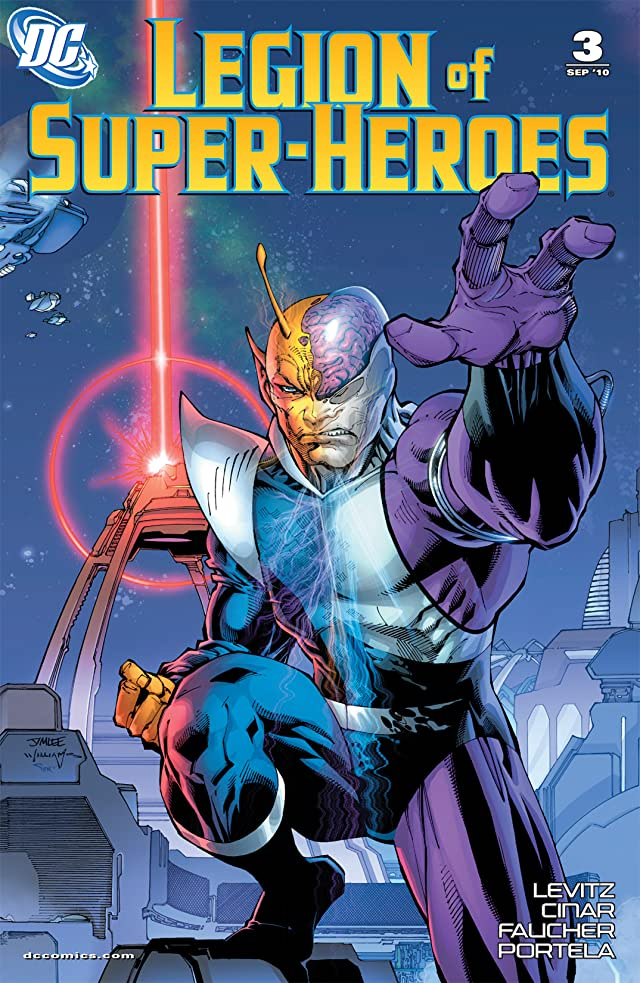 click for super-sized previews of Legion of Super-Heroes (2010-2011) #3