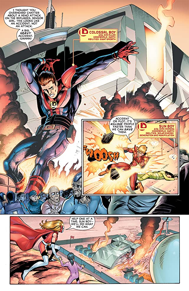 click for super-sized previews of Legion of Super-Heroes (2010-2011) #5