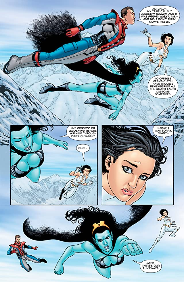 click for super-sized previews of Legion of Super-Heroes (2010-2011) #6