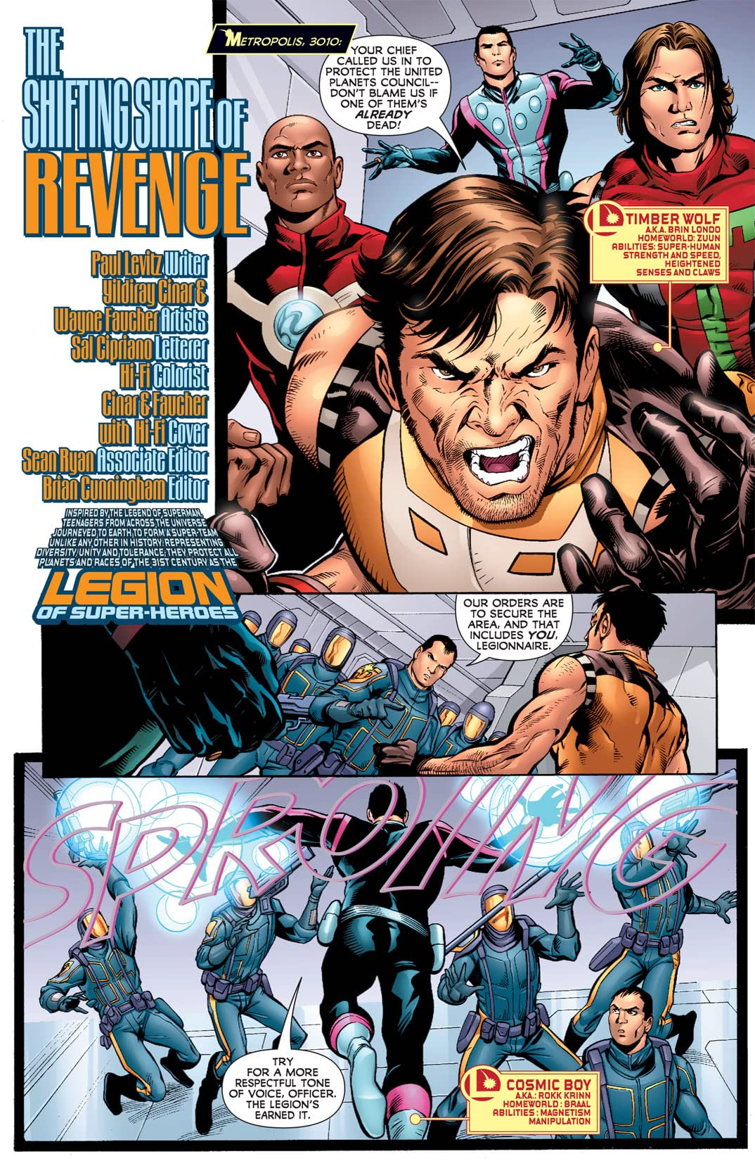 Legion of Super-Heroes (2010-2011) #7