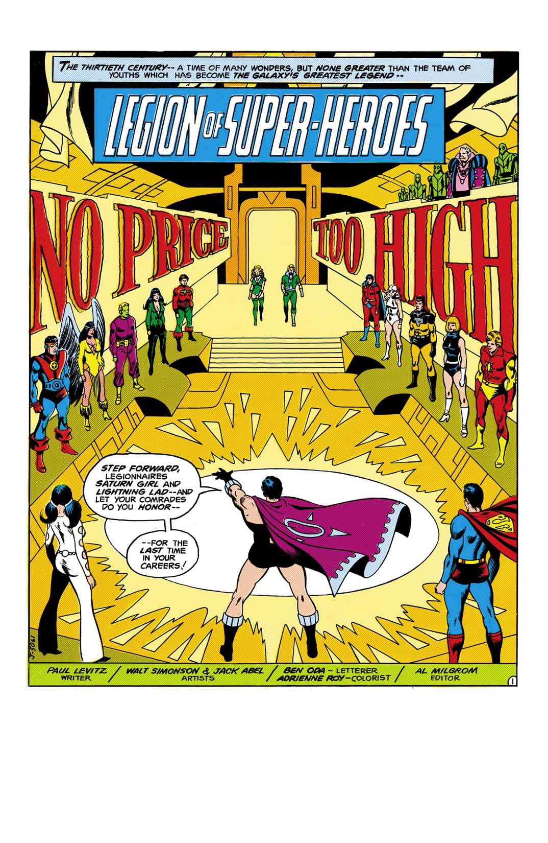 Superboy and the Legion of Super-Heroes (1949-1979) #237