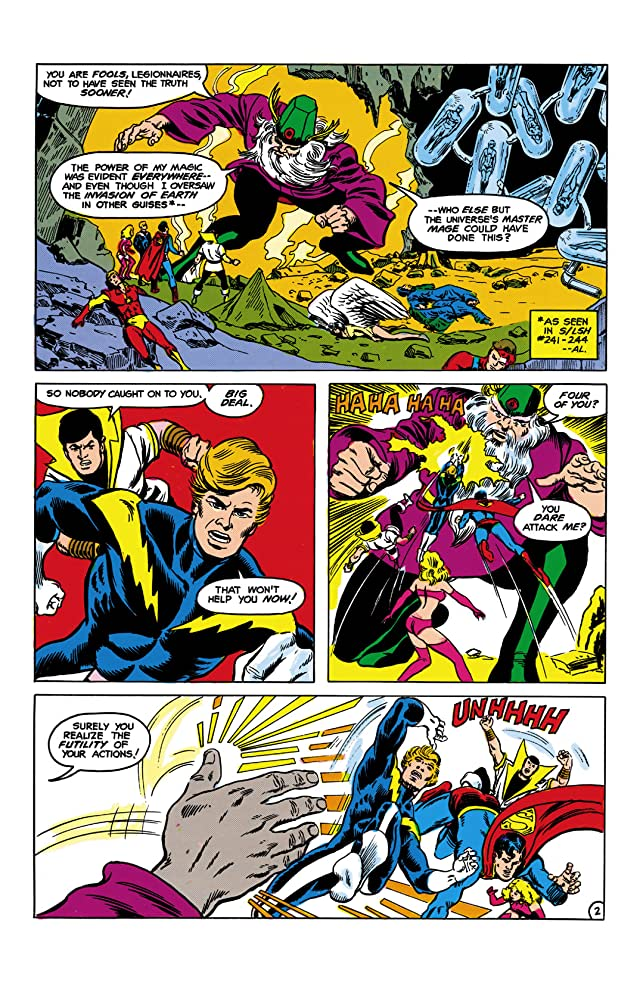 Superboy and the Legion of Super-Heroes (1949-1979) #245