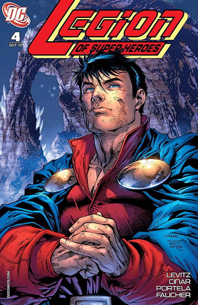 click for super-sized previews of Legion of Super-Heroes (2010-2011) #4