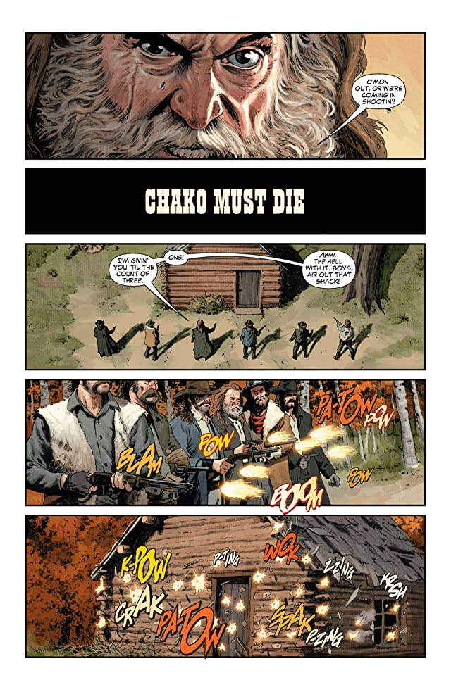 click for super-sized previews of Jonah Hex (2006-2011) #4