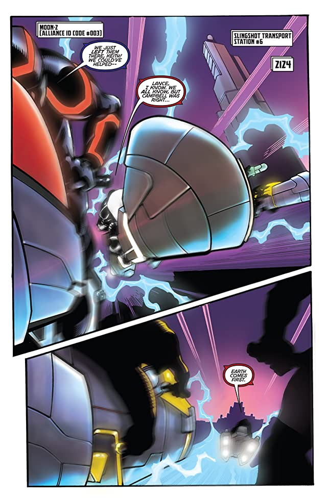click for super-sized previews of Voltron #4