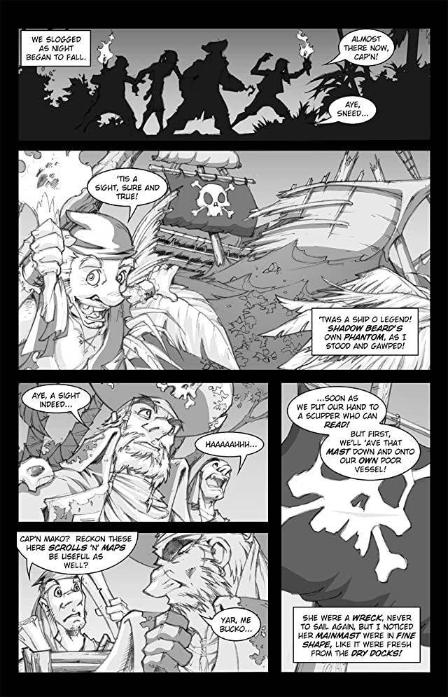 Pirates Vs. Ninjas #4 (of 4)