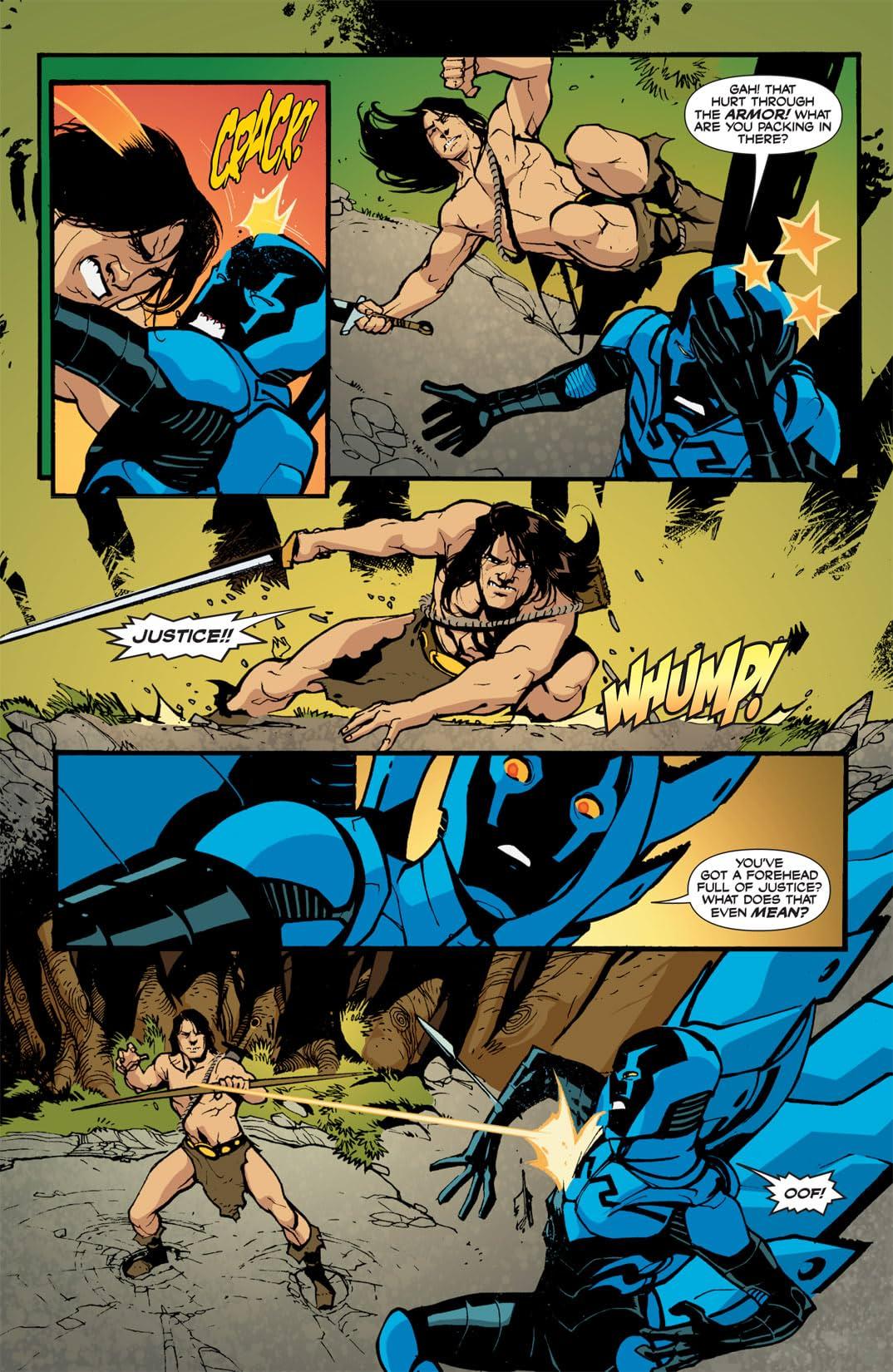 Blue Beetle (2006-2009) #11