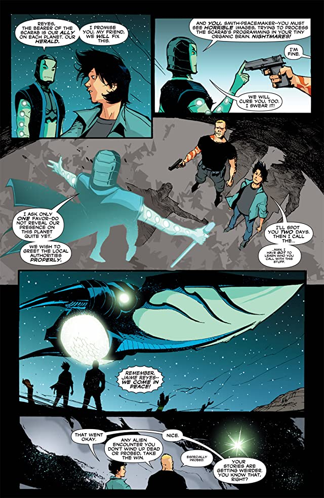 click for super-sized previews of Blue Beetle (2006-2009) #13