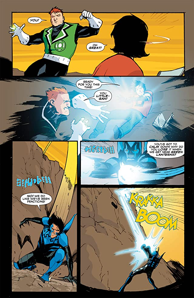 click for super-sized previews of Blue Beetle (2006-2009) #14