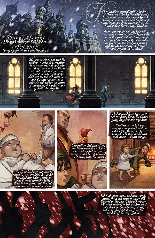 click for super-sized previews of Carbon Grey Origins #2 (of 2)