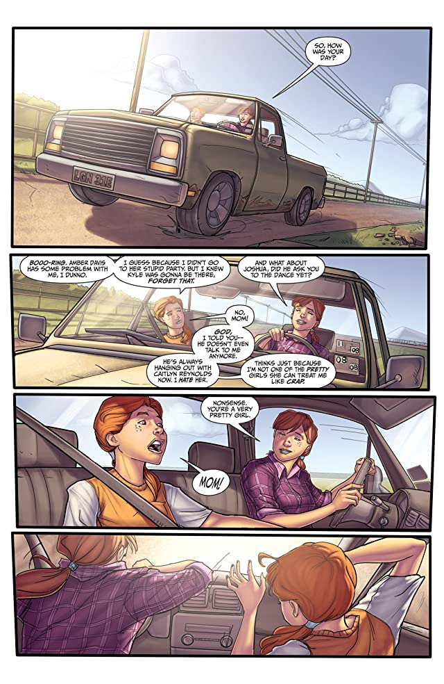 click for super-sized previews of Morning Glories #17