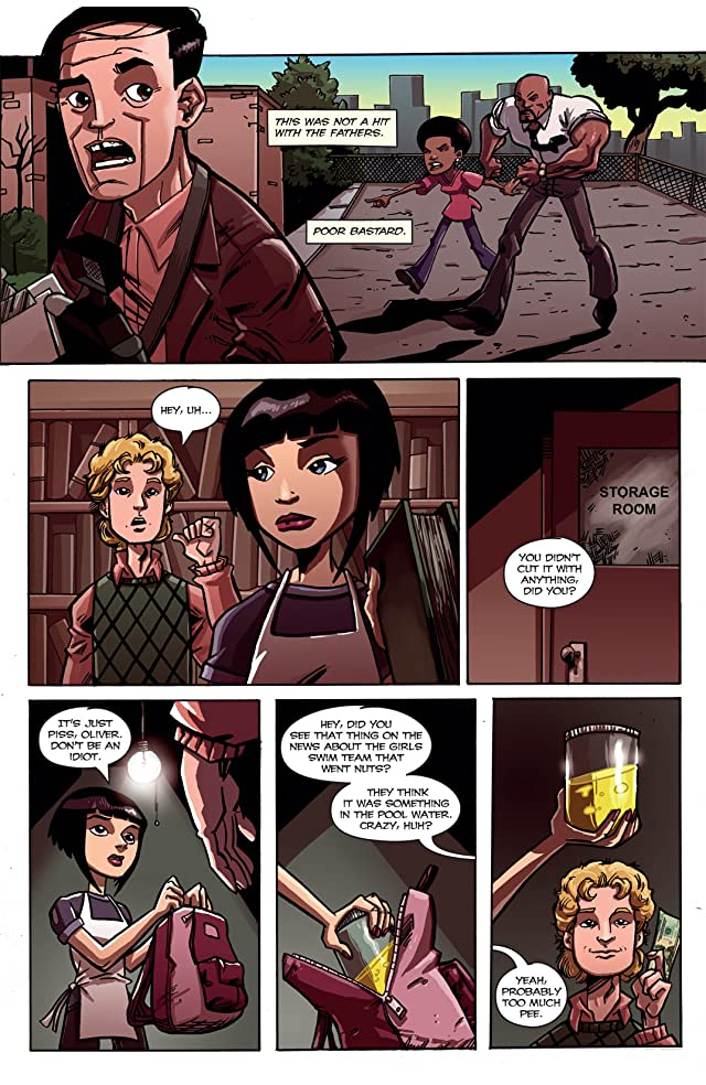 click for super-sized previews of Alpha Girl #2