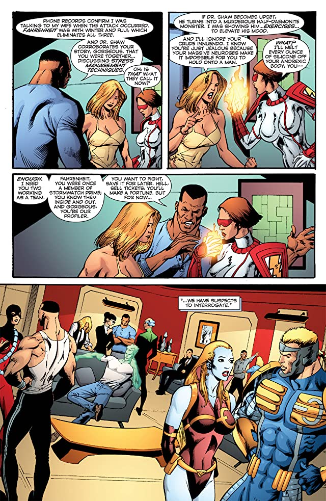 click for super-sized previews of Stormwatch: PHD #9