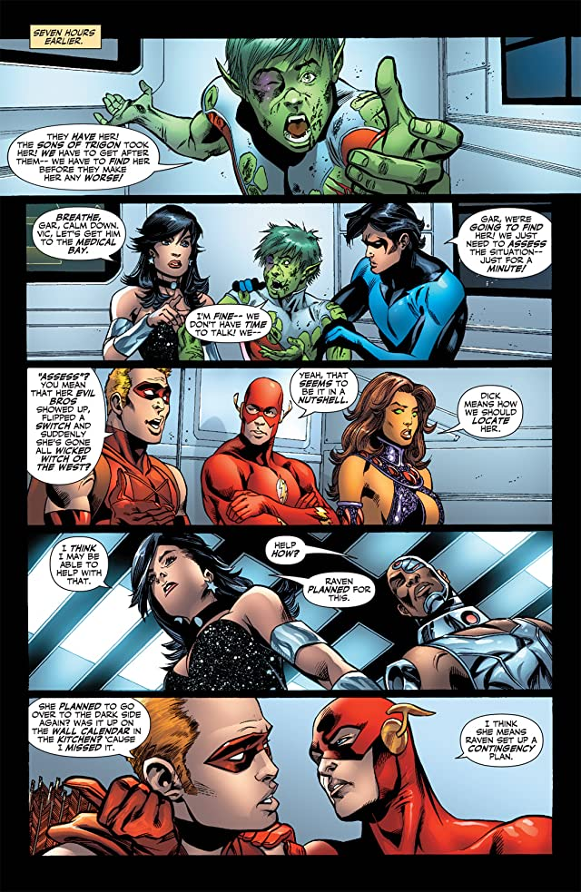 click for super-sized previews of Titans (2008-2011) #6
