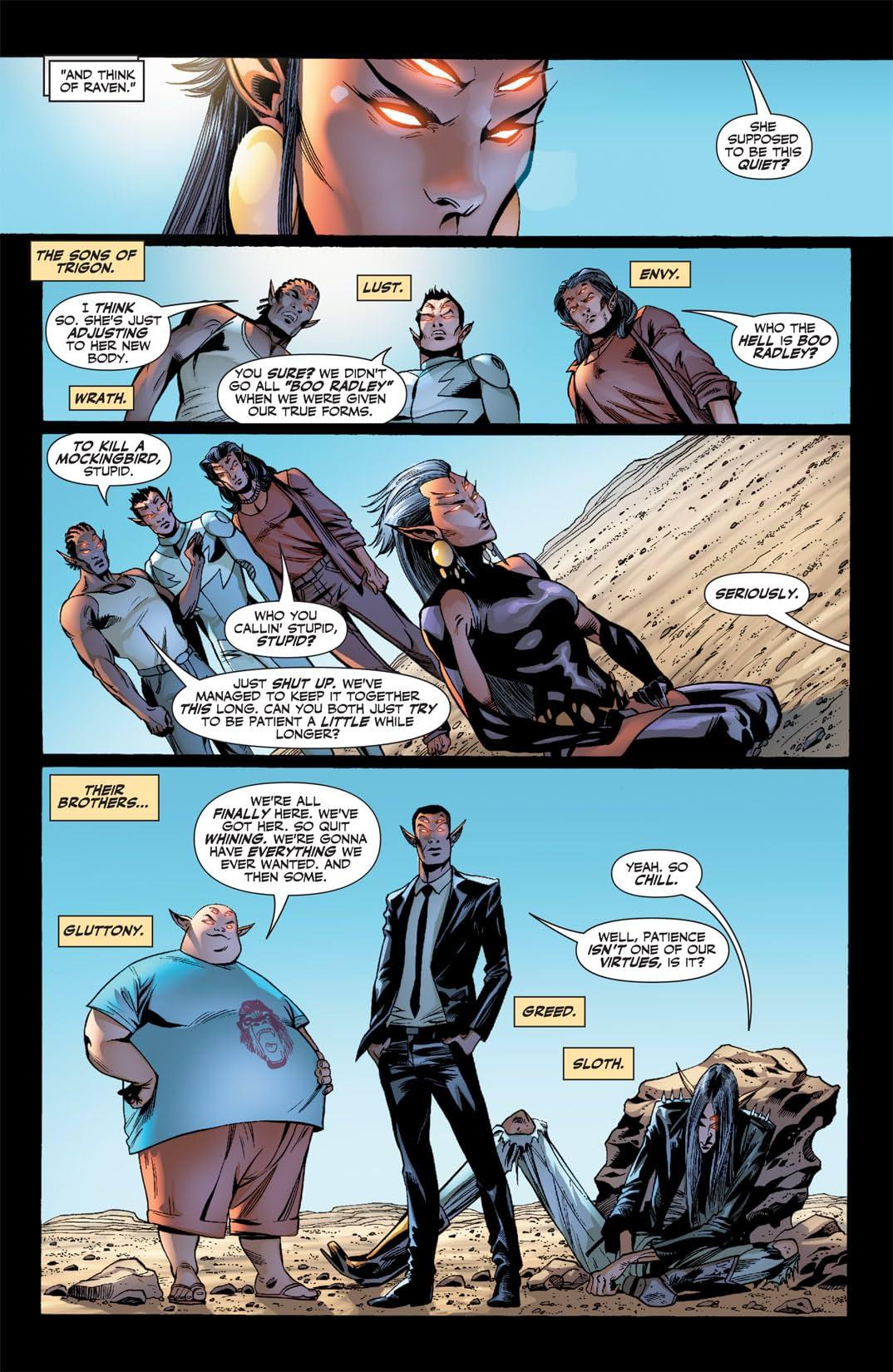 Titans (2008-2011) #6