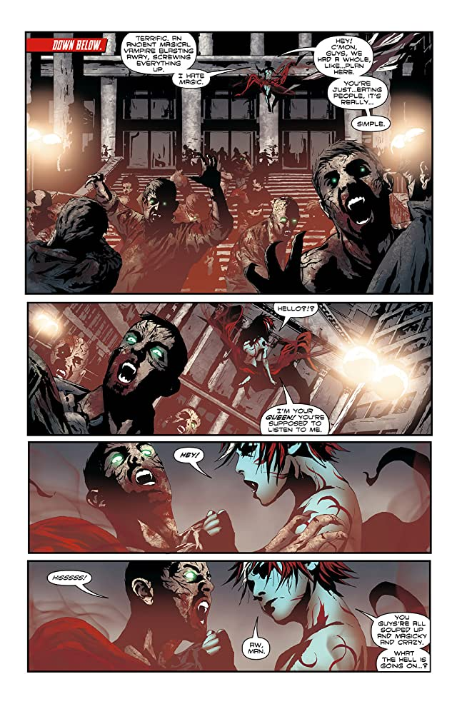click for super-sized previews of I, Vampire (2011-2013) #7