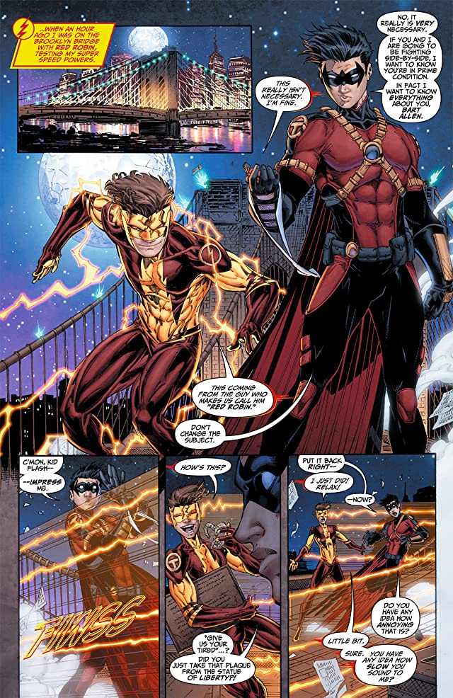 click for super-sized previews of Teen Titans (2011-2014) #7