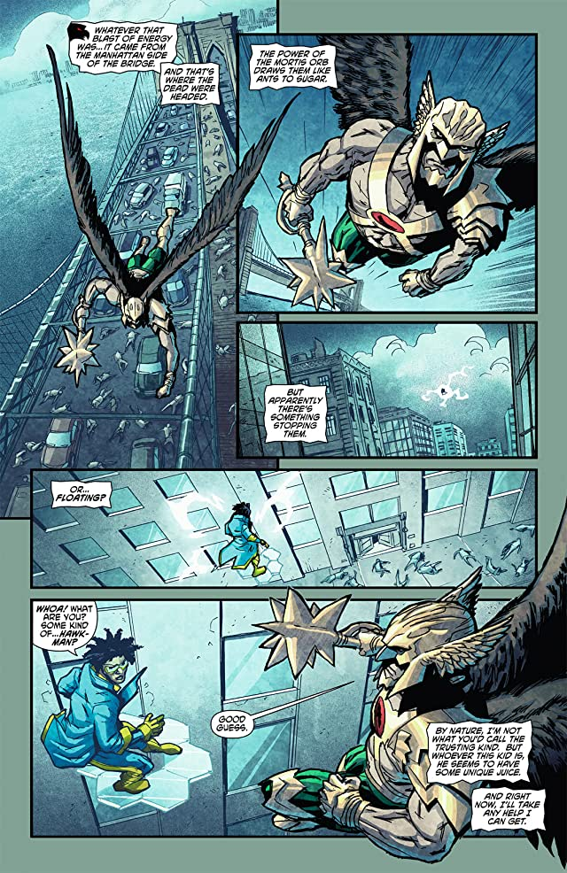 click for super-sized previews of The Savage Hawkman (2011-2013) #7