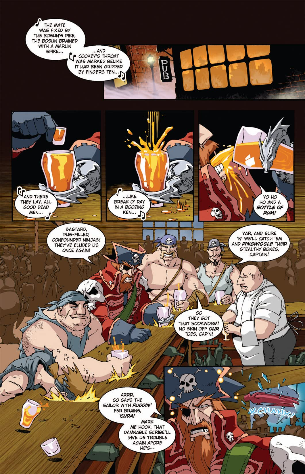 Pirates Vs. Ninjas II: Up the Ante #5 (of 8)