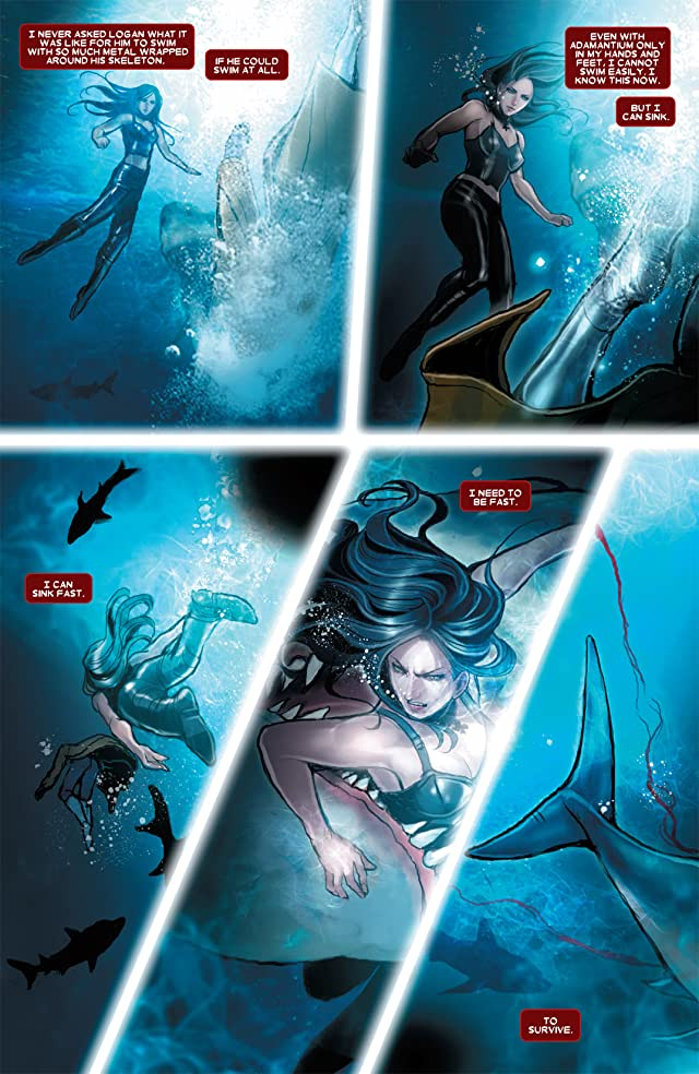 click for super-sized previews of X-23 (2010-2012) #7