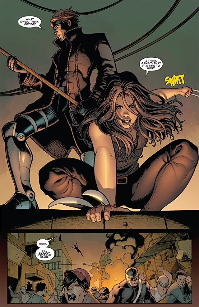 click for super-sized previews of X-23 (2010-2012) #8