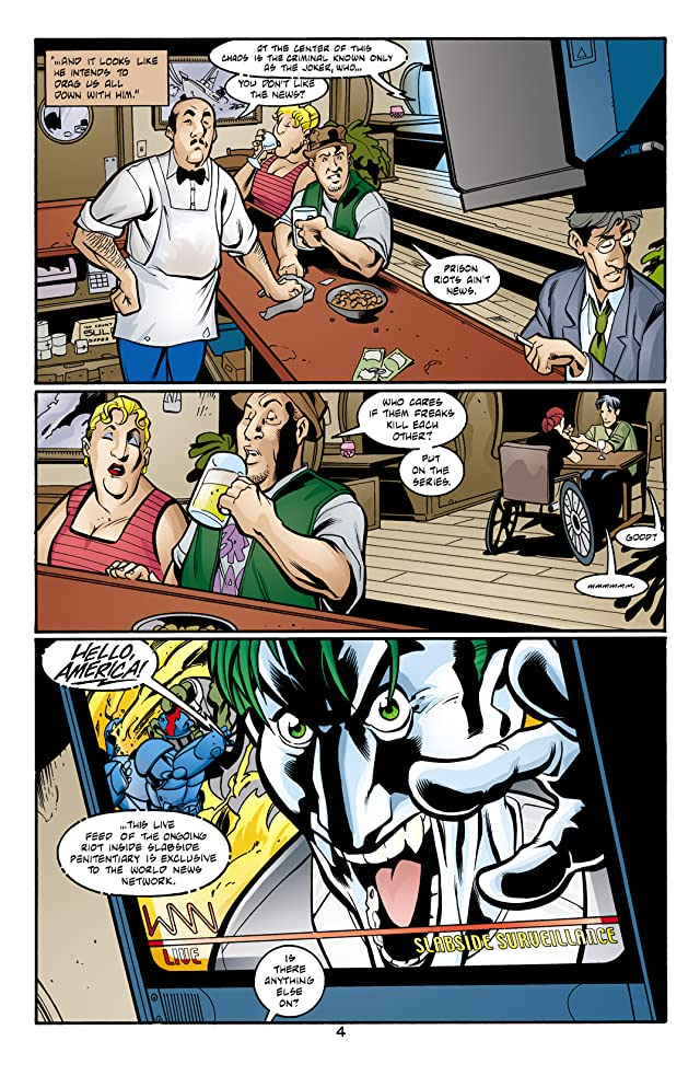 click for super-sized previews of Joker: Last Laugh #1 (of 6)