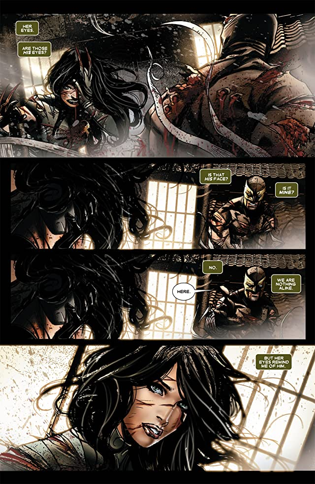 click for super-sized previews of Daken: Dark Wolverine #8
