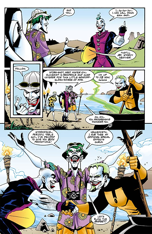Joker: Last Laugh #4 (of 6)