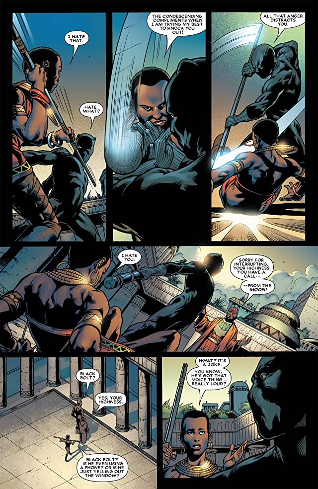 click for super-sized previews of Black Panther (2005-2008) #20