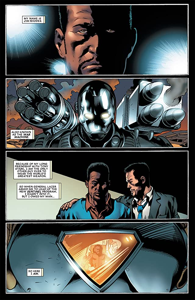 click for super-sized previews of Black Panther (2005-2008) #22