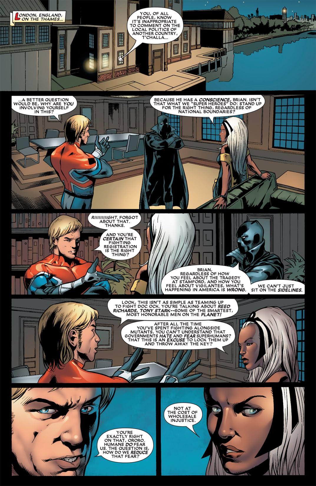 Black Panther (2005-2008) #22