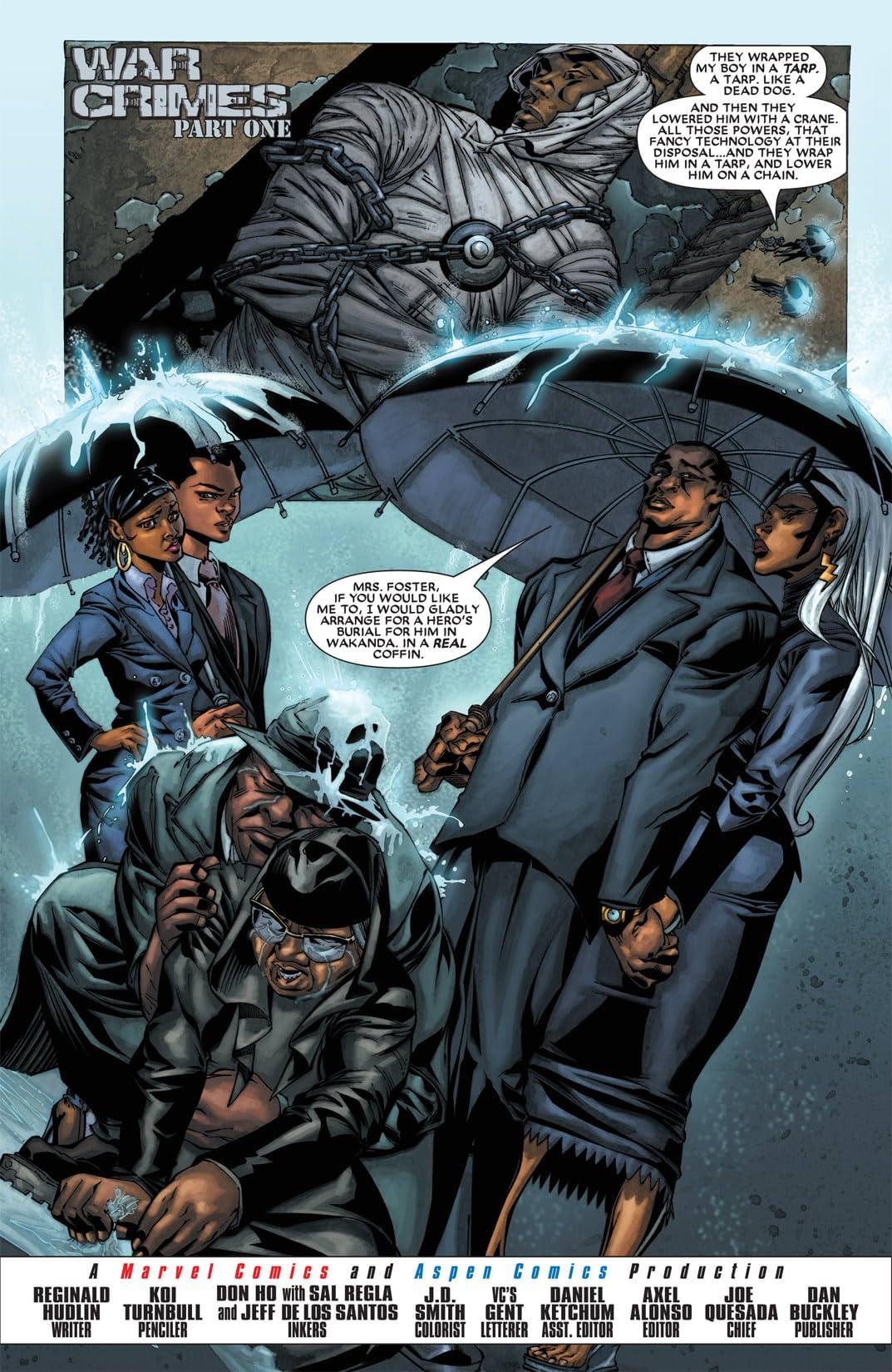 Black Panther (2005-2008) #23