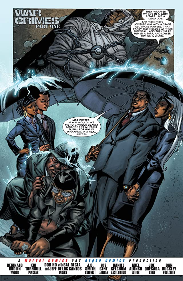 click for super-sized previews of Black Panther (2005-2008) #23