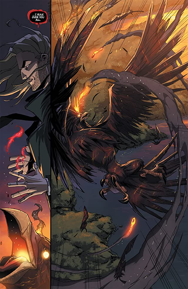 click for super-sized previews of Charismagic #5