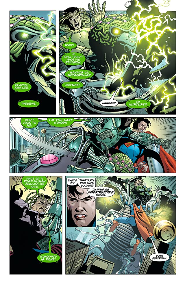 click for super-sized previews of Action Comics (2011-) #8
