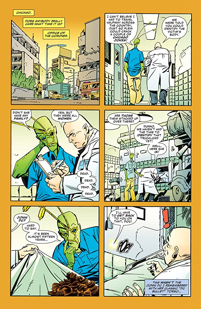 click for super-sized previews of Ambush Bug: Year None #1