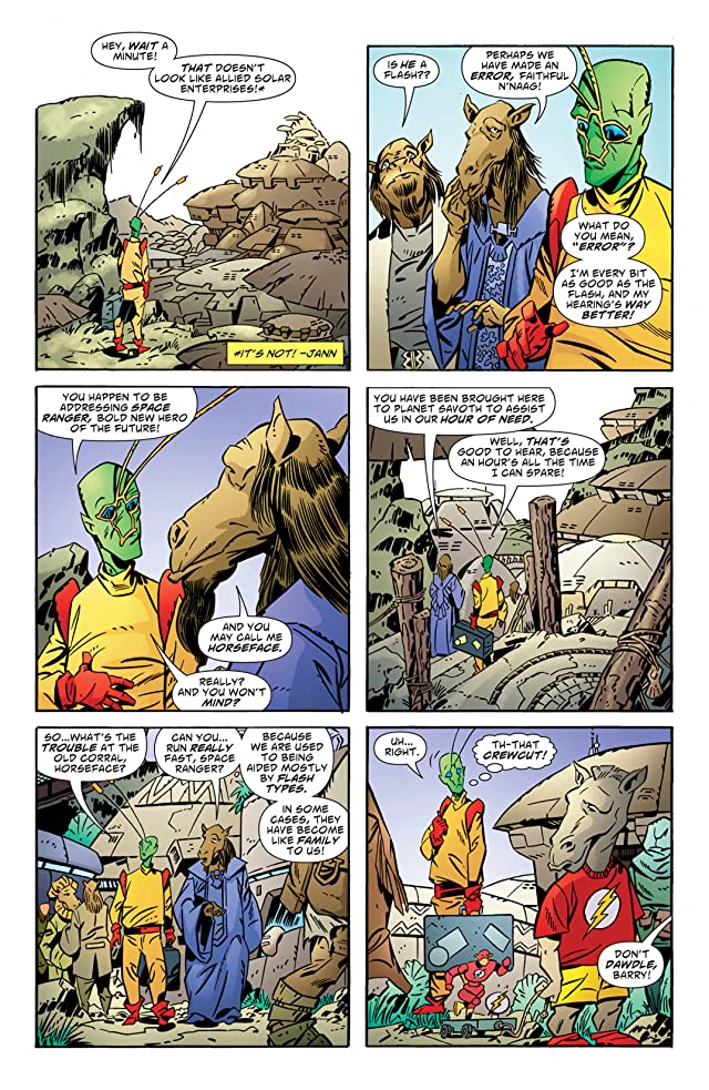click for super-sized previews of Ambush Bug: Year None #2