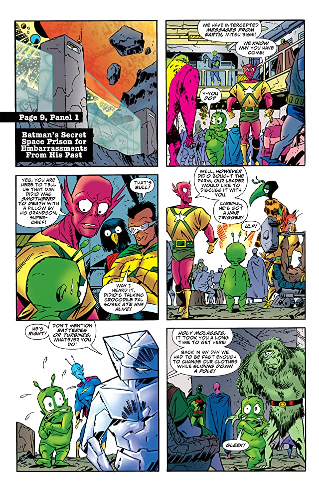 click for super-sized previews of Ambush Bug: Year None #4
