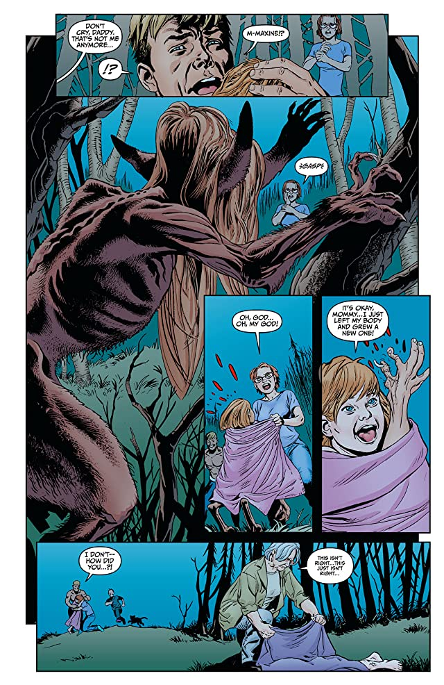 click for super-sized previews of Animal Man (2011-2014) #8