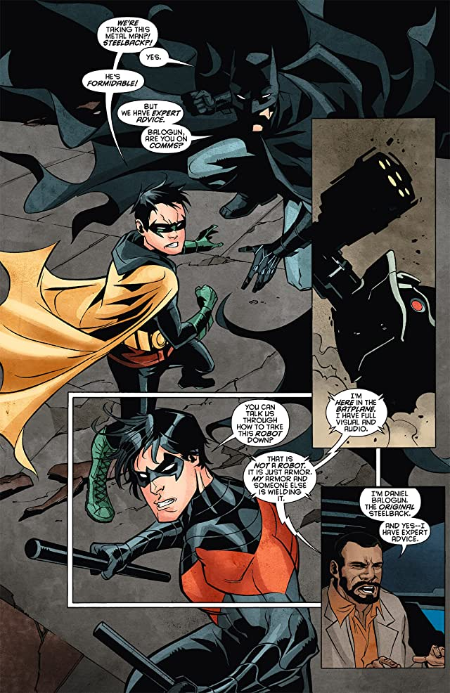click for super-sized previews of Batwing (2011-2014) #8